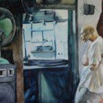 Elmer Borlongan, Electronics Repair Center, Watercolor on paper, 2016, 48x63.5cm