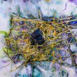 Kelly Ramos, Nesting #2, Watercolor, 2017, 61x91.5 cm