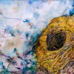 Kelly Ramos, Nesting #3, Watercolor, 2017, 61x91.5 cm
