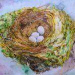 Kelly Ramos, Nesting #4, Watercolor, 2017, 61x91.5 cm