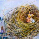 Kelly Ramos, Nesting #5, Watercolor, 2017, 61x91.5 cm