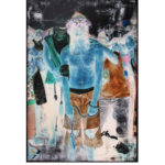 Olan Ventura, SinEaster I, Acrylic on canvas, 2017, 183x122 cm