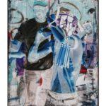 Olan Ventura, SinEaster III, Acrylic on canvas, 2017, 152.5x122 cm