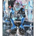 Olan Ventura, SinEaster IV, Acrylic on canvas, 2017, 152.5x122 cm