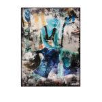 Olan Ventura, SinEaster VII, Acrylic on canvas, 2017, 122x91.5 cm