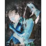 Olan Ventura, SinEaster VIII, Acylic on canvas, 2017, 122x91.5 cm