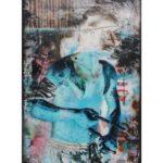 Olan Ventura, SinEaster X, Acrylic on canvas, 2017, 91.5x61 cm