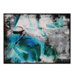 Olan Ventura, SinEaster XIII, Acrylic on canvas, 2017, 45.5x61 cm
