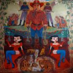 Leonard Aguinaldo, The Awakening, Acrylic on cloth, 2016, 128x128 cm