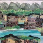 Manuel Baldemor, Yangshuo Ancient Village, Watercolor, 2018, 10.5x13.5in