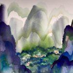 Manuel Baldemor, Beyond Expectation Yangshou Guilin, Watercolor, 2018, 15x22in