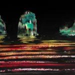 Manuel Baldemor, Captured Water Theater, Watercolor, 2018, 15x22in