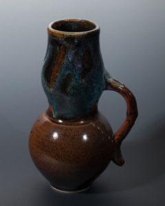 Jeff van den Broeck, Large pot, stoneware, 2019