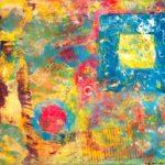 Jeff van den Broeck, Abstract 5, Clay monoprint, 2018