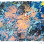 Jeff van den Broeck, End of the Day, Clay monoprint, 2015