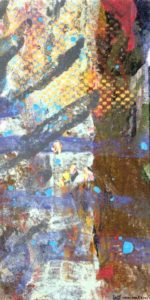 Jeff vna den Broeck, Evening Light, Clay monoprint, 2015