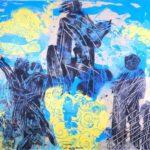 Jeff van den Broeck, Victory, Clay monoprint, 2014