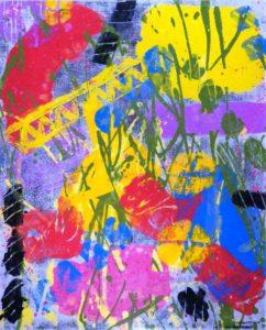 Jeff van den Broeck, Zeomer 2014, Clay monoprint, 2014