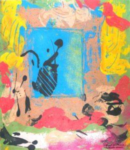 Jeff van den Broeck, The Greek Woman, Clay monoprint, 2011