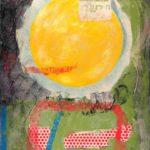 Jeff van den Broeck, Helios, Clay monoprint, 2013