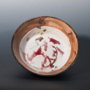 Jeff van den Broeck, Plate, stoneware, 2019
